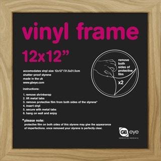 "12"" Album Cover Frame: Oak: 31.5X31.5cm: 30mm (online only)"
