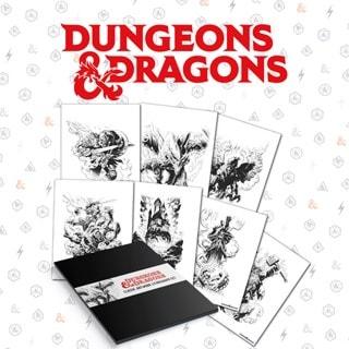 Lithograph Set: Dungeons & Dragons Wall Art