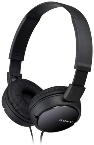 Sony MDRZX110 Black Headphones