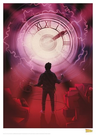 Back To The Future: Clock Limited Edition Print