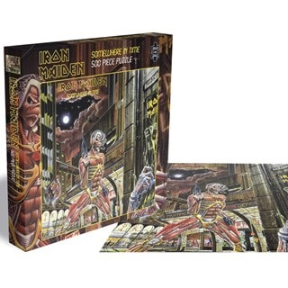 Iron Maiden - Somewhere In Time: 500 Piece Jigsaw Puzzle