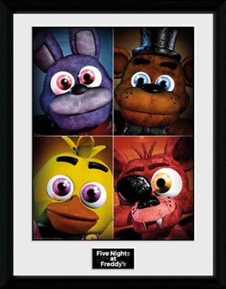 Five Nights At Freddy's Framed Wall Art