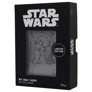 My Only Hope Ingot: Star Wars Collectible