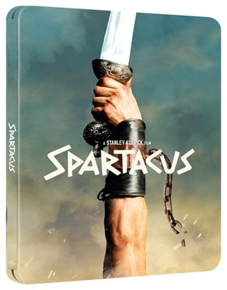 Spartacus 60th Anniversay Limited Edition 4K Ultra HD Steelbook
