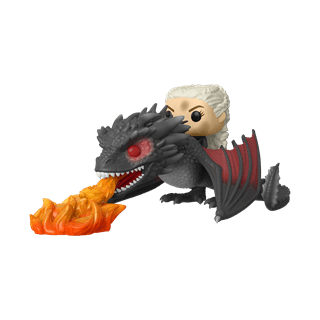 Daenerys & Fiery Drogon (68) Game Of Thrones Pop Vinyl Rides