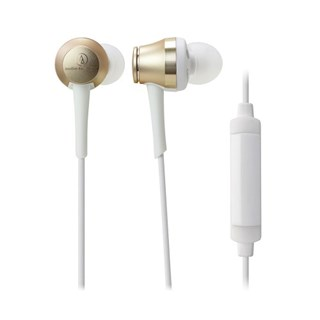 Audio Technica ATH-CKR70iS Gold Earphones