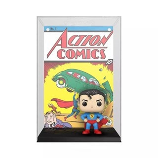 Superman Action Comic (01): DC Comic Cover Pop Vinyl