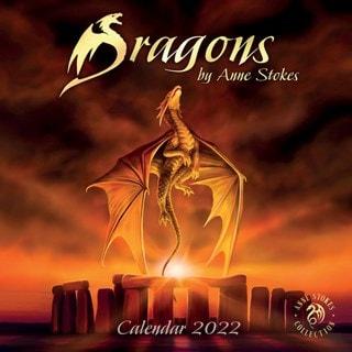 Dragons: Anne Stokes Square 2022 Calendar