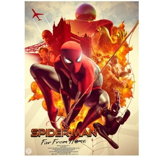 Spider-Man: Far From Home Limited Edition Art Print