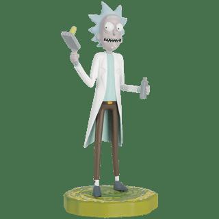Rick: Rick and Morty Figurine: Hero Collector