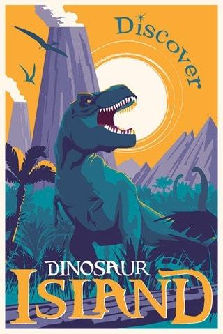 Jurassic Park: Dinosaur Island Limited Edition Art Print