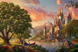 Beauty and the Beast: Limited Edition Canvas Print