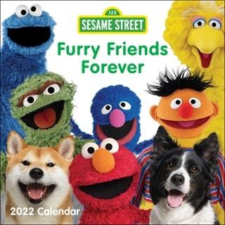 Sesame Street Square 2022 Calendar