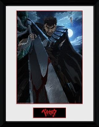 Berserk: Guts Anime Framed Collector Print