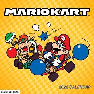 Mario Kart Retro: Nintendo Square 2022 Calendar