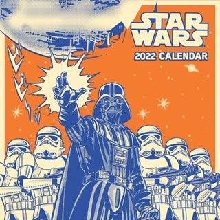 Star Wars 3D Cover Classic: Square 2022 Calendar