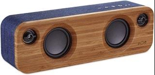 House Of Marley Get Together Mini Denim Bluetooth Speaker