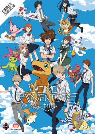 Digimon Adventure Tri: The Complete Chapters 1-6