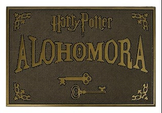 Harry Potter: Alohomora Rubber Door Mat