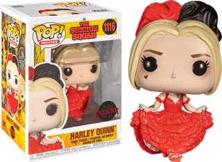 Harley Quinn Curtsying (Tbc): Suicide Squad 2021: (hmv Exclusive) Pop Vinyl