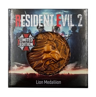 Resident Evil Replica: Lion Medallion (online only)