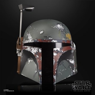 Boba Fett Electronic Helmet: Star Wars Black Series