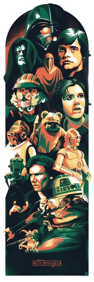 Star Wars: Toward The Darkside Lithograph Limited Edition Art Print