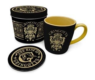 Harry Potter: Gringotts Mug Gift Set in Tin
