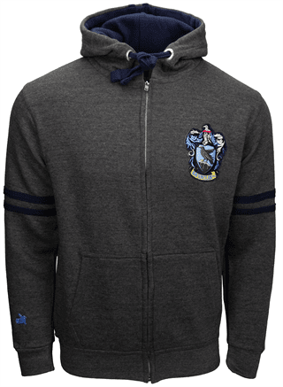Harry Potter: Ravenclaw Zipped Hoodie