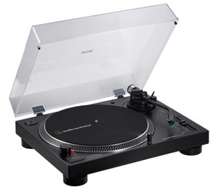 Audio Technica AT-LP120XBT Black Bluetooth Turntable