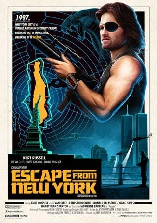 Escape From New York: Matt Ferguson Movie Poster