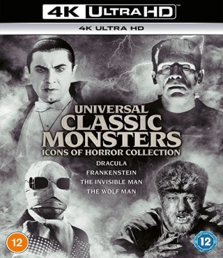Universal Classic Monsters: Icons of Horror Collection