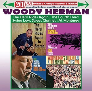 Four Classic Albums: The Herd Rides Again/The Fourth Herd/Swing Low Sweet Clarinet/...