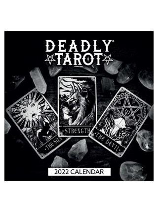 Deadly Tarot: Square 2022 Calendar