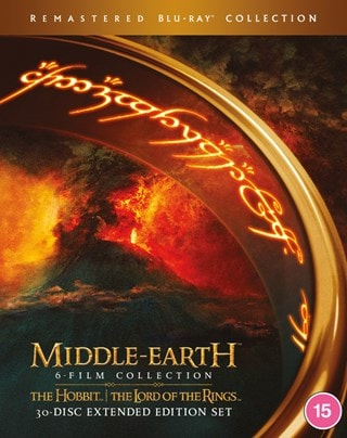 Middle-Earth: 6 Film Collection - Extended Edition