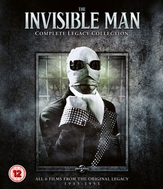The Invisible Man: Complete Legacy Collection