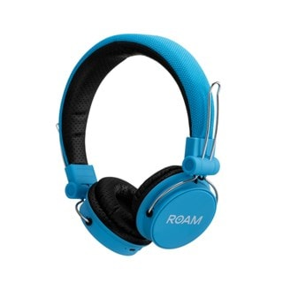 Roam Journey Blue Bluetooth Headphones