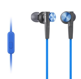 Sony XB50AP Blue Extra Bass Earphones