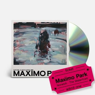 Maximo Park - Nature Always Wins - CD & Norwich Waterfront Event Entry