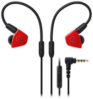 Audio Technica ATH-LS50iS Red Earphones