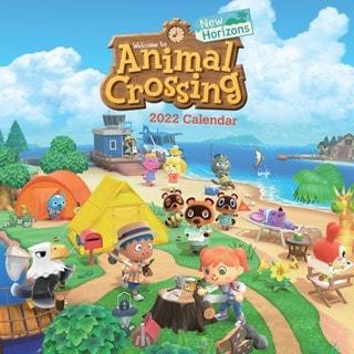 Animal Crossing: New Horizons Square 2022 Calendar