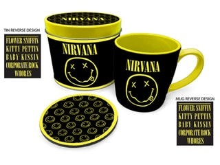 Nirvana Mug Gift Set in Tin