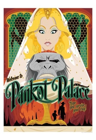 Indiana Jones: Pankot Palace Limited Edition Art Print
