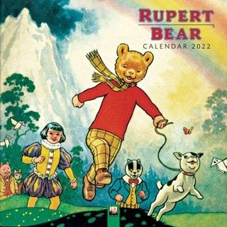 Rupert Bear Square 2022 Calendar