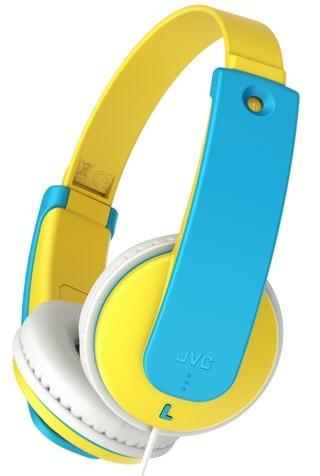 JVC Kids Yellow/Blue Headphones