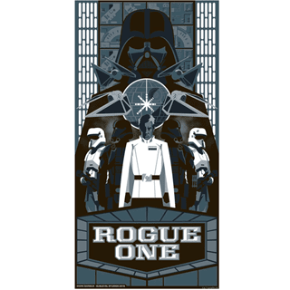 Star Wars: Silver Rogue One: Limited Edition Art Print