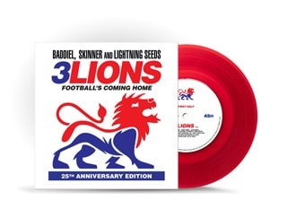 3 Lions - 25th Anniversary Edition Red Vinyl