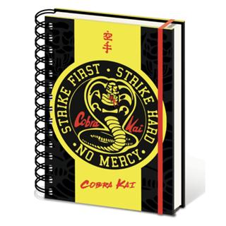 Cobra Kai Badge A5 Wiro Notebook (hmv Exclusive)