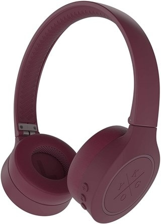 Kygo A4/300 Burgundy Bluetooth Headphones