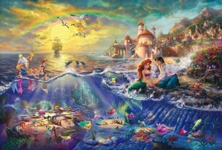 The Little Mermaid: Limited Edition Canvas Print